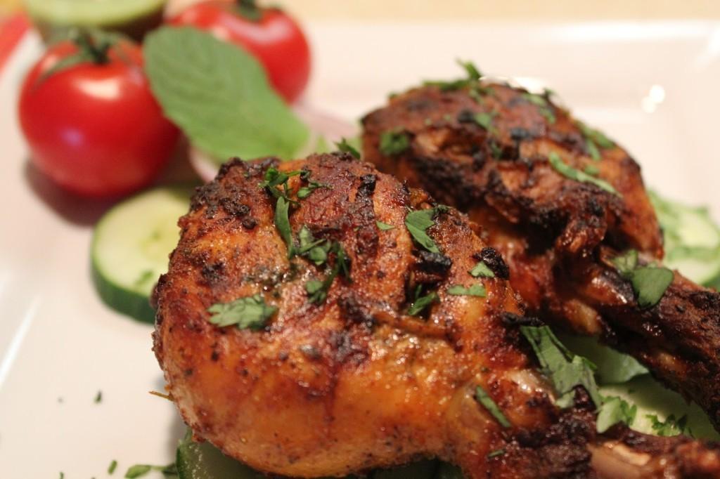 Tandoori Chicken on a Microwave